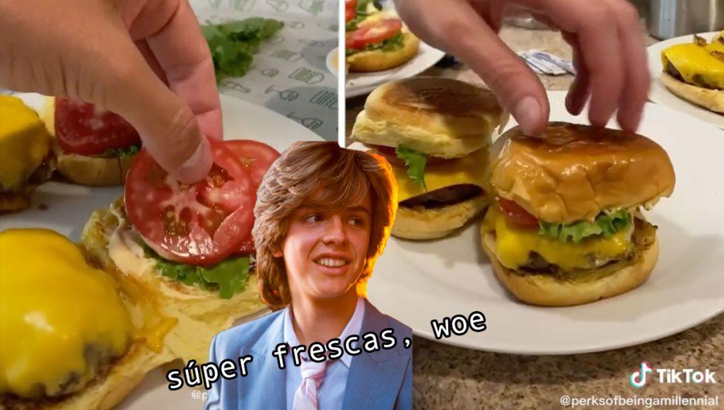 Chavito bien se sorprende al descubrir que las hamburguesas se pueden hacer en casa