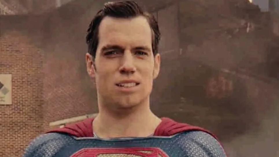 henry cavill justice league face