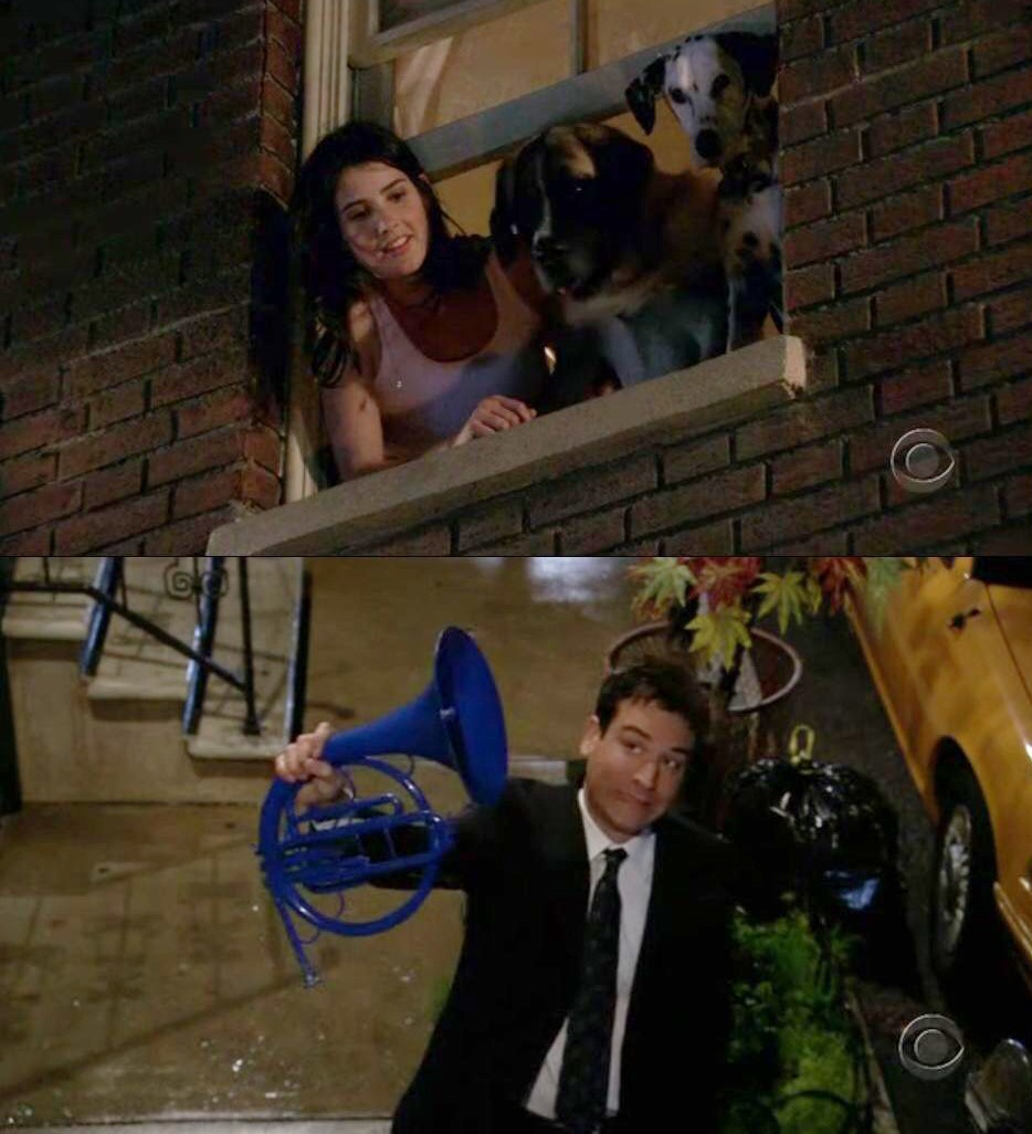 How I Met Your Mother Blue French Horn