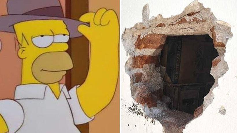 Sed de la mala nivel: hacen un hoyo en la pared para huachicolear cerveza