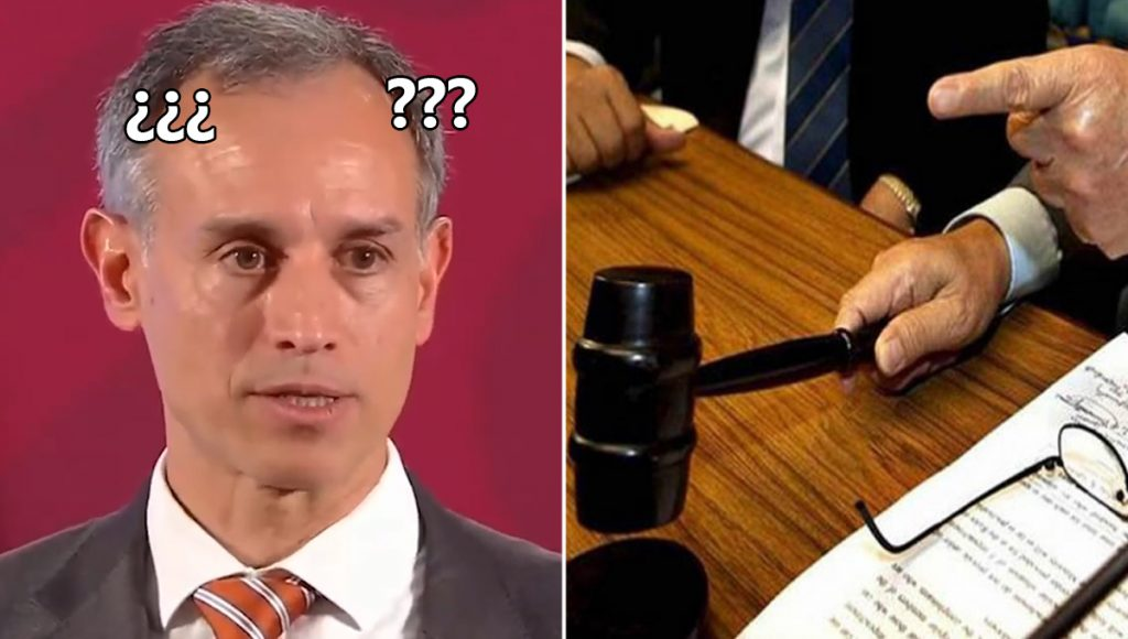 Clásico que no te gustan las conferencias de Hugo López Gatell y lo demandas