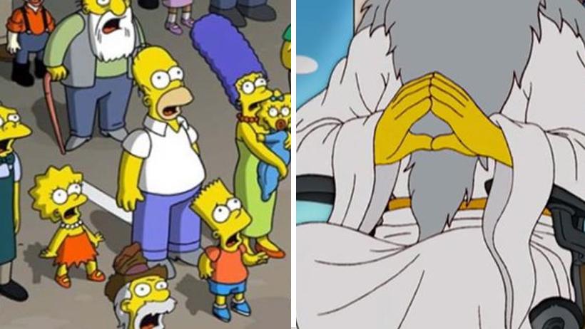 Los Simpson demandarán a Dios por plagiarles todo lo que se les ocurre a ellos