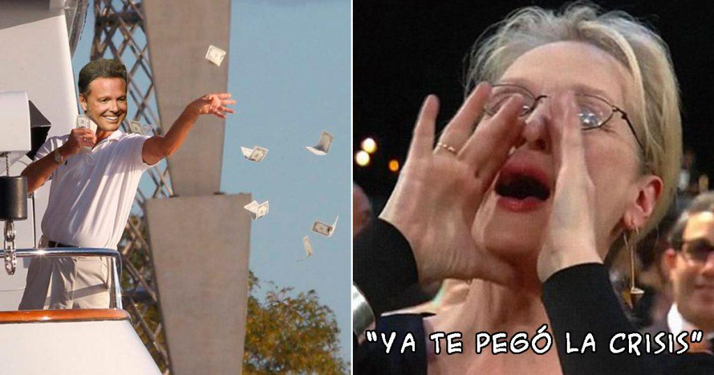Luis Miguel Uber Eats comercial memes