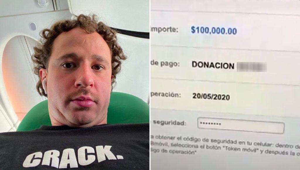 Los youtubers no somos ricos… Luisito Comunica dona 100 mil pesos de un jalón