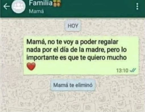 mama regalo meme