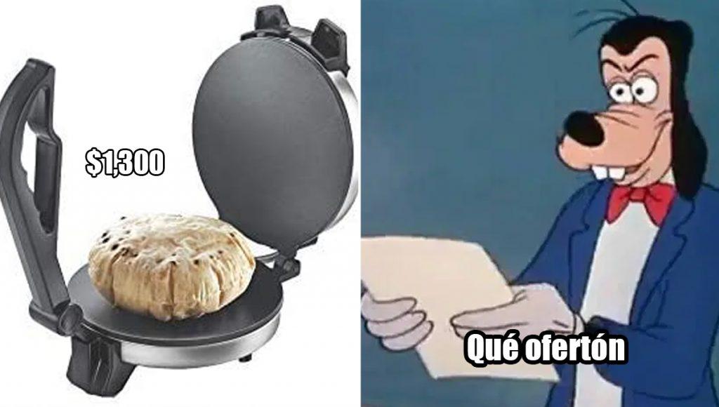 Venden aplanador de tortilla en más de mil pesos, hoy en gringos descubren México