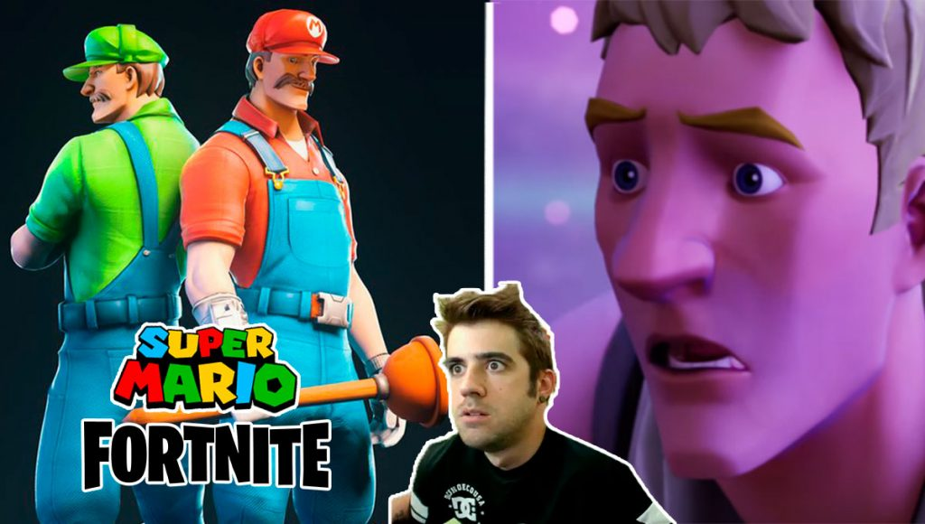 fortnite mario bros. skin