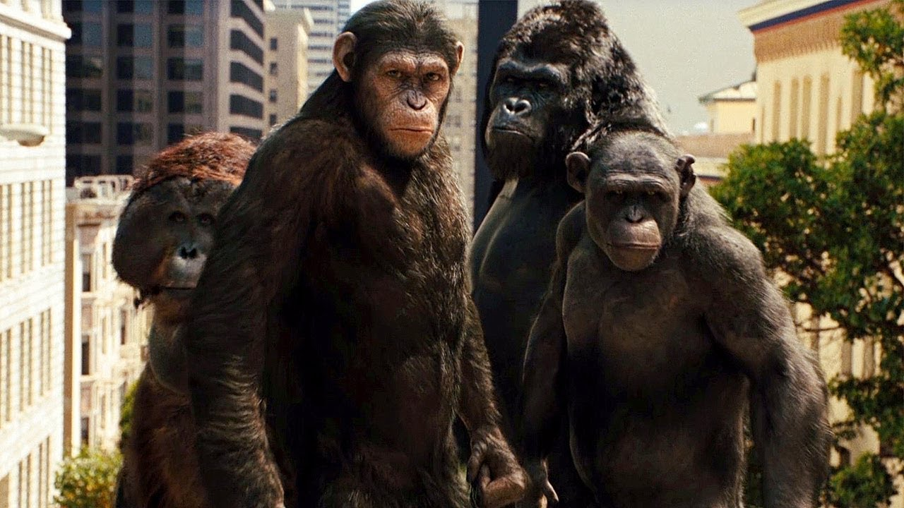 Rise of the Planet of the Apes Caesar