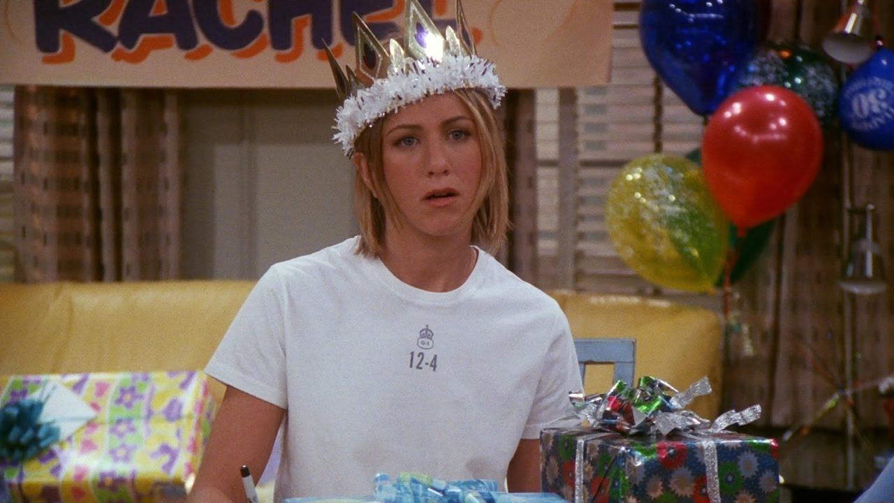 Rachel Birthday Friends