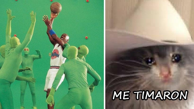 Millennials consternados tras descubrir que Michael Jordan grabó con pantalla verde