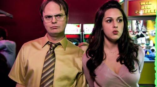dwight and isabel the office