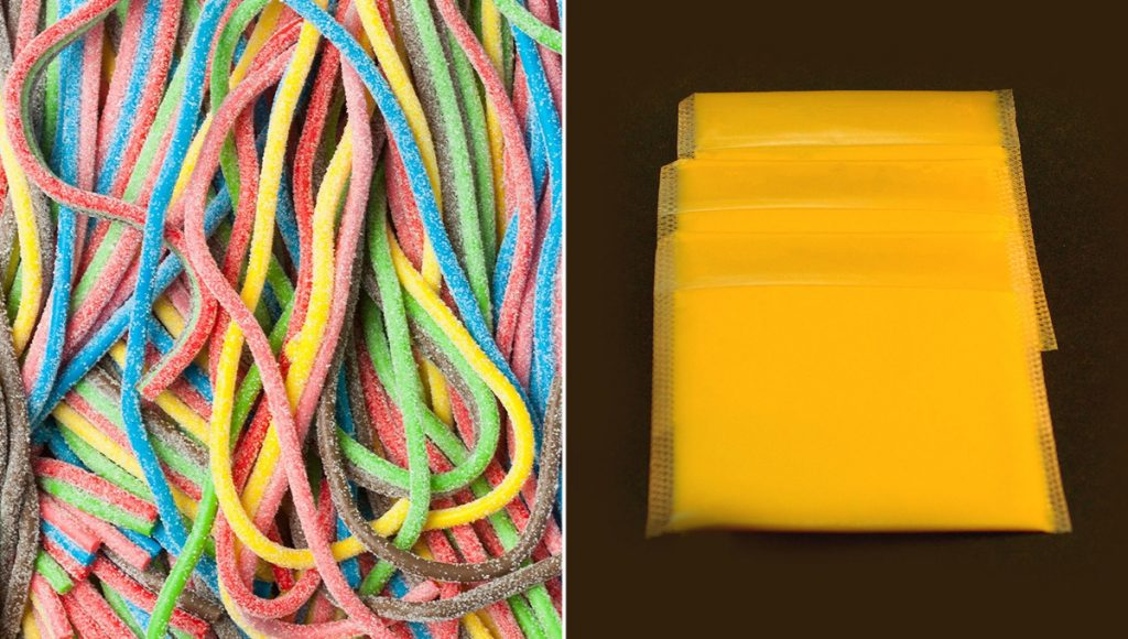 10 comidas que sospechas que son plástico pero igual te comes