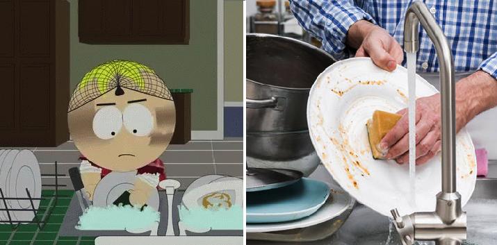 Según la ciencia, lavar los platos te ayuda a vivir más años