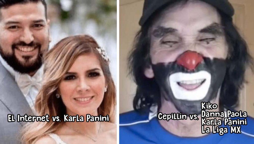 Pleito y dramas de celebridades en cuarentena