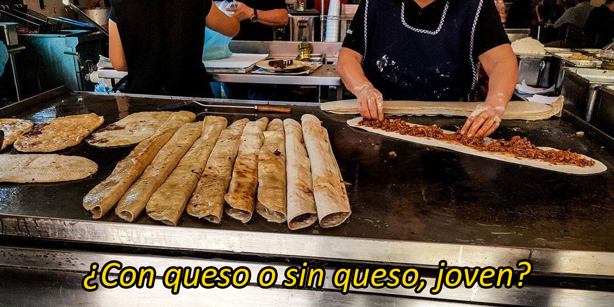 Quesadilla Los Machetes