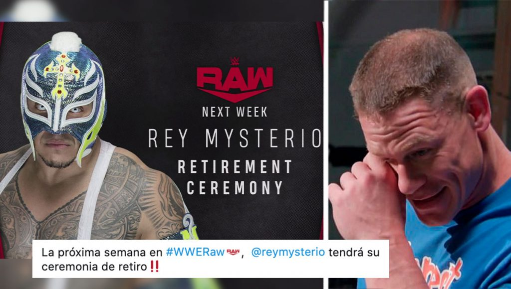 ¡Eso WWE, ya lo lograste! Rey Mysterio se retira de las luchas tras duras semanas