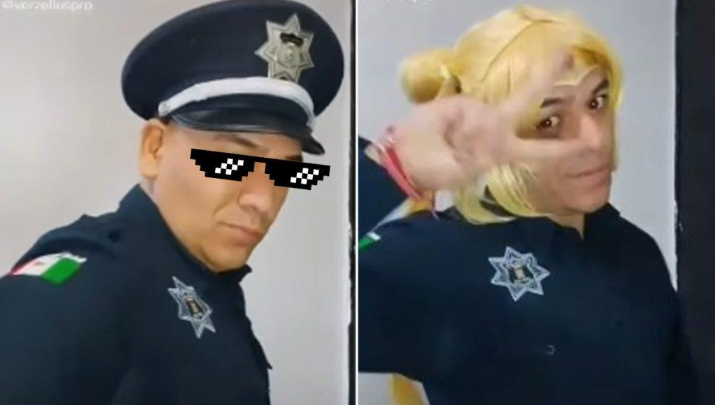 Clásico que por los días eres policía y por las noches ¿Sailor Moon?