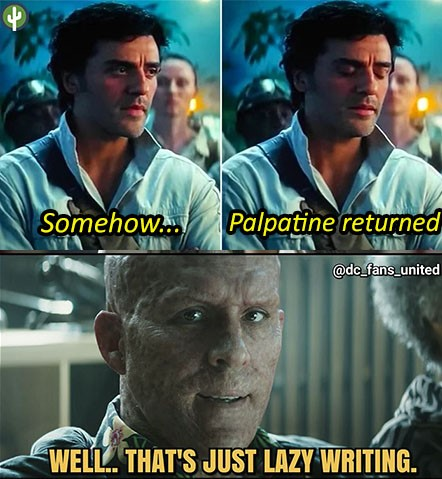 somehow palpatine returned