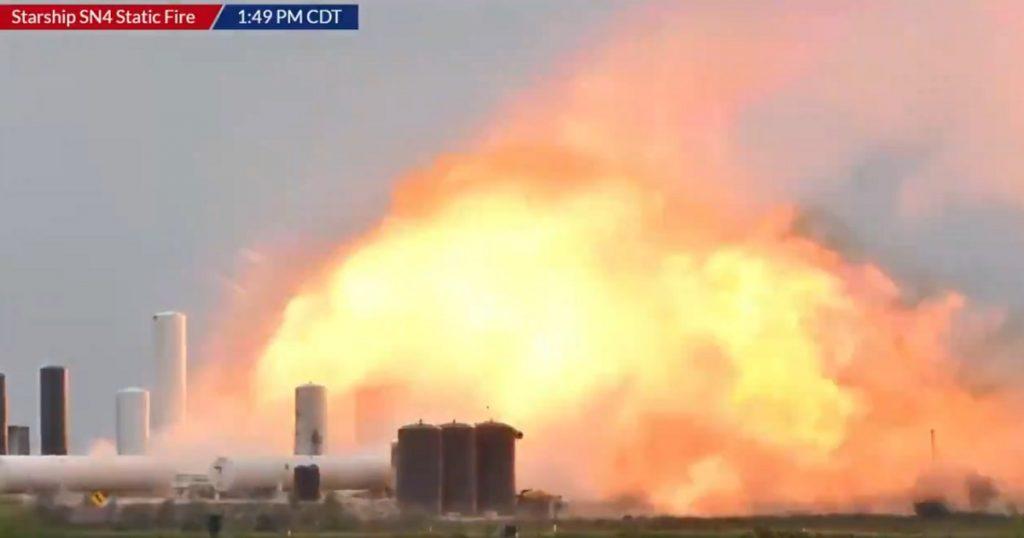 VIDEO: Así explotó Starship, la nave de SpaceX, en pruebas de rutina en Texas