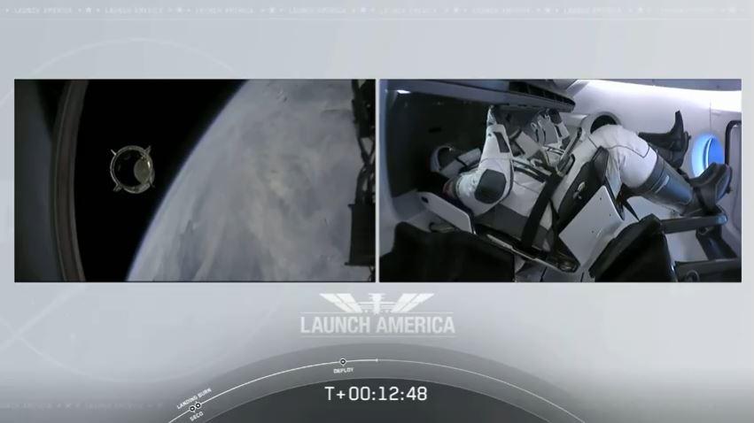 SpaceX On Orbit