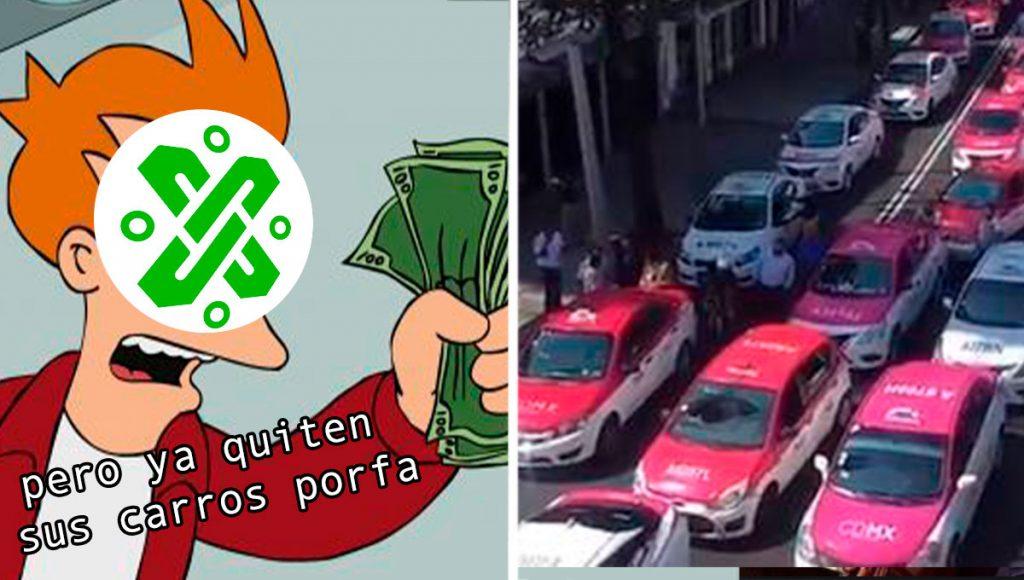 taxistas cdmx