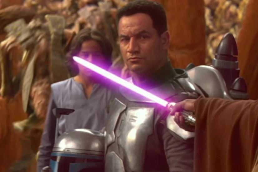 Temuera Morrison Jango Fett Star Wars Attack of the Clones