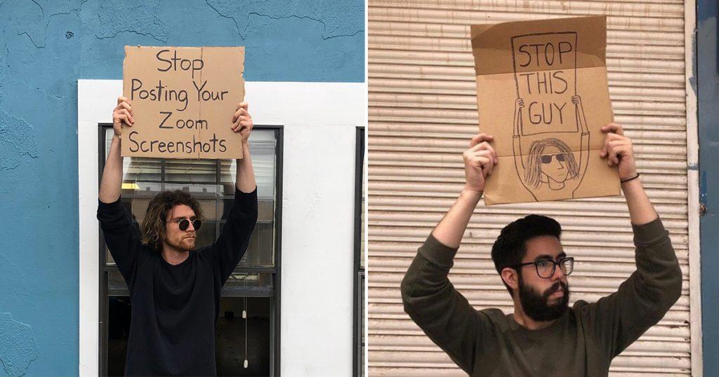 the-sign-guy-hombre-de-los-carteles-quien-es-mejores-mensajes-internet