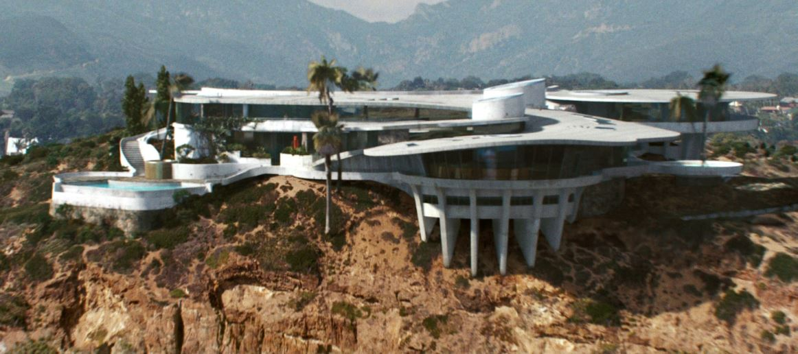 Tony Stark Malibu Mansion