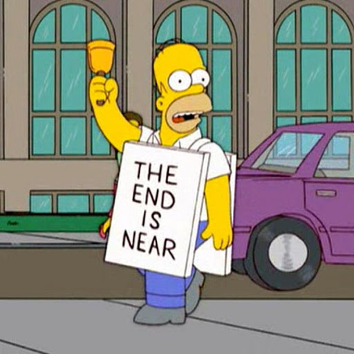 The end is near homer