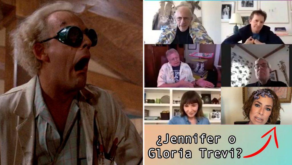 ¡Bendita cuarentena, Doc! Se reunió el elenco de Volver al Futuro y la nostalgia se desborda