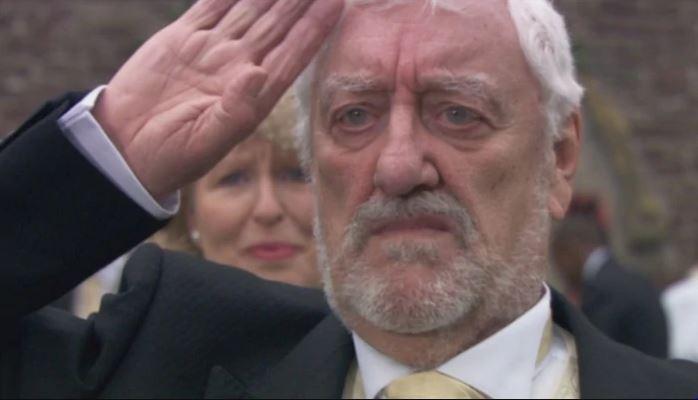 wilfred mott salute