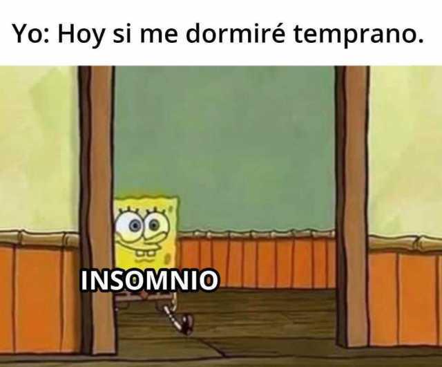 Insomnio meme