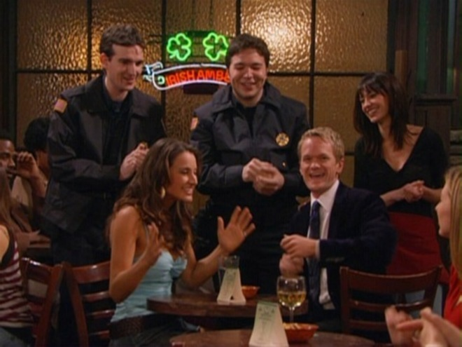 how i met your mother carter and craig cameo