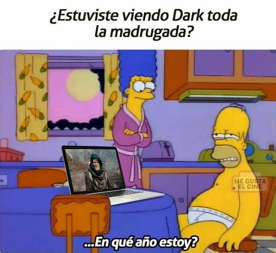 dark desvelada homero