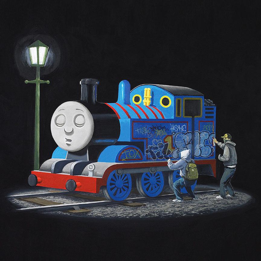 Banksy Thomas Train