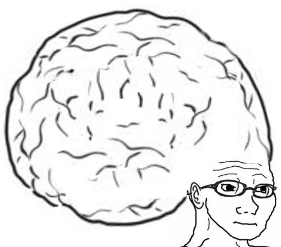 big brain meme