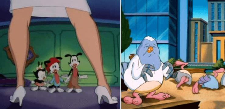 10 escenas de Animaniacs que deben ser censuradas para no ofender a nadie