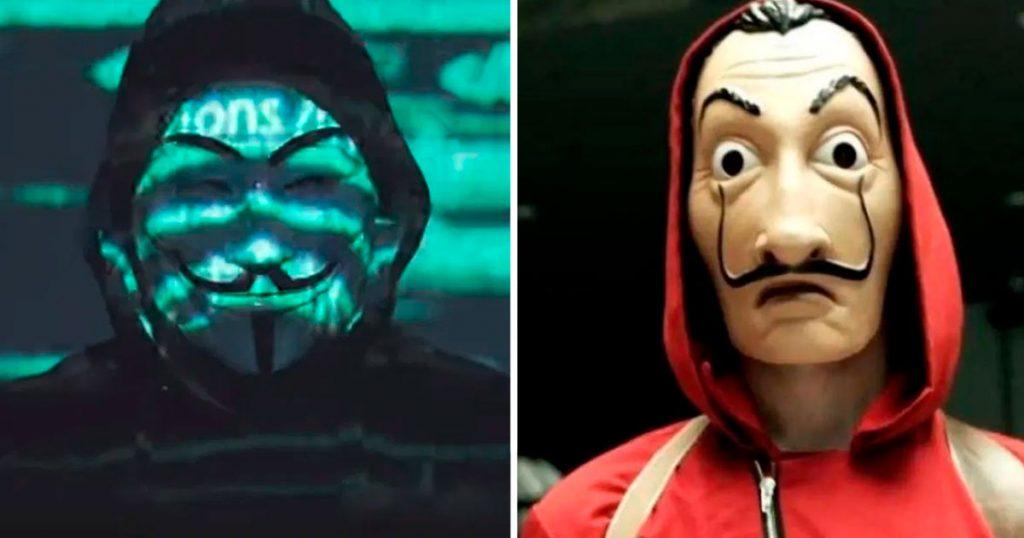 Merecemos el COVID: Centennials afirman que Anonymous le copió a La Casa de Papel