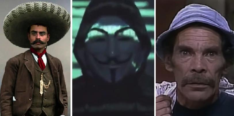 Otros 9 personas que los centennials creen que era 'Anonymous'
