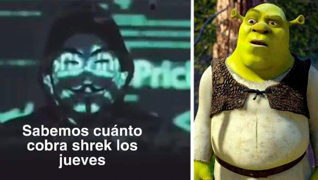 anonymous shrek