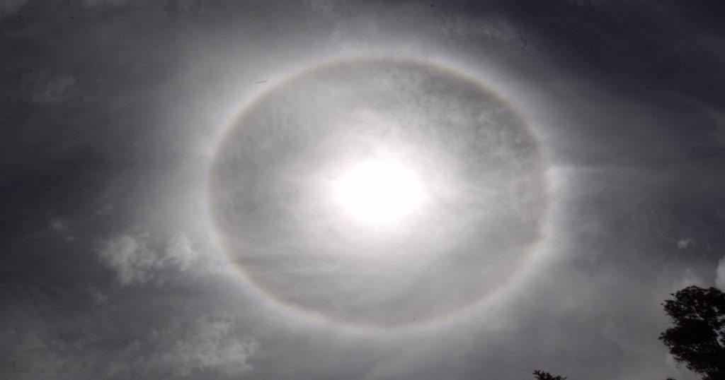 El misterioso halo solar captado durante el sismo en CDMX: ¿a qué se debe?