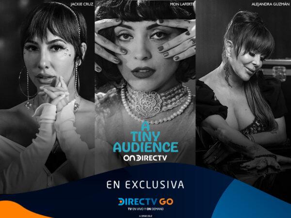Con presentaciones de Mon Laferte, Juanes y Sebastián Yatra estrenan Tiny Audience por DIRECTV GO