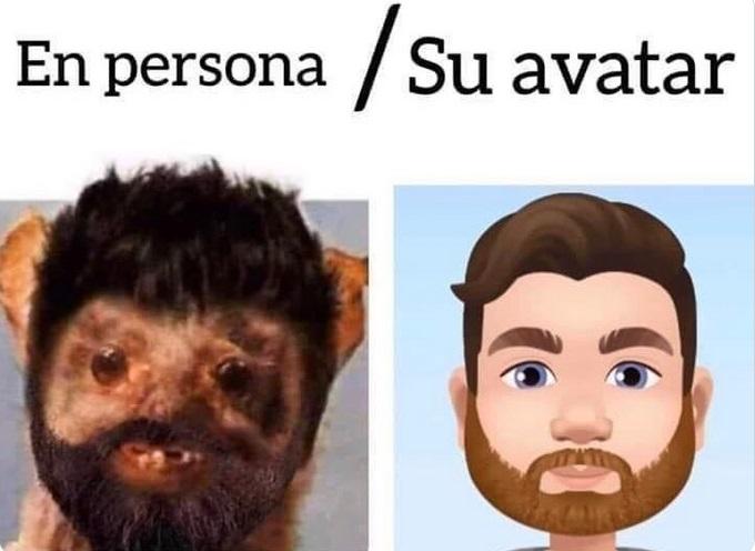En persona vs emoji: Los mejores memes del Avatar de Facebook