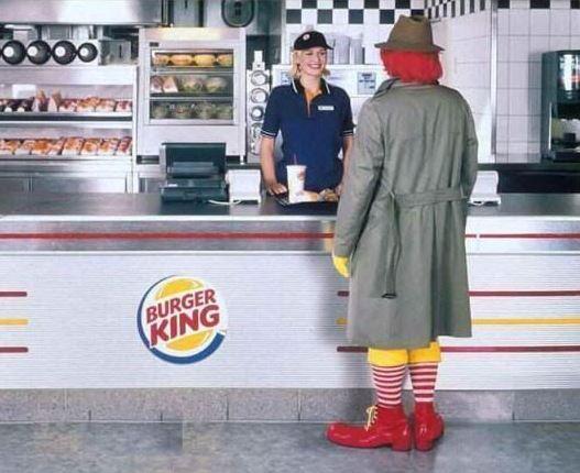 Burger King McDonald's Meme Ronald