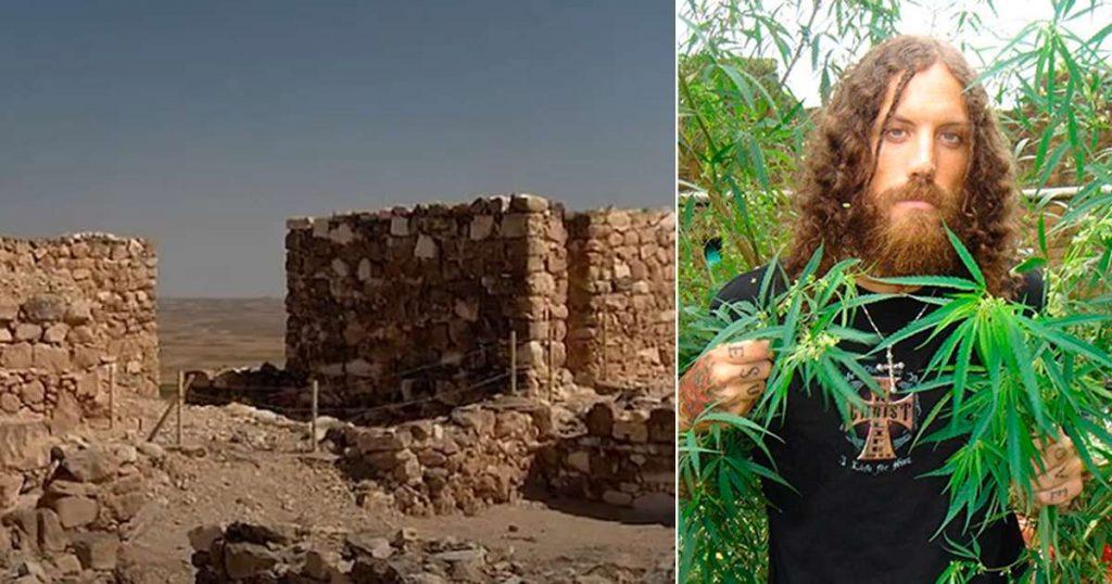 Mota descubren cannabis en altar antiguo Israel