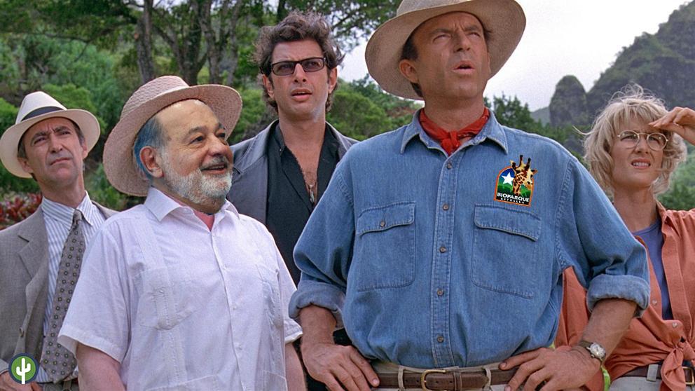 Carlos Slim Jurassic Park Oaxaca