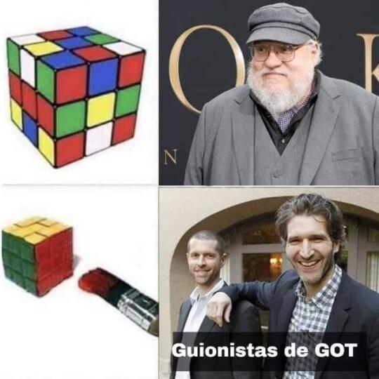 game of thrones meme george rr martin david and dan