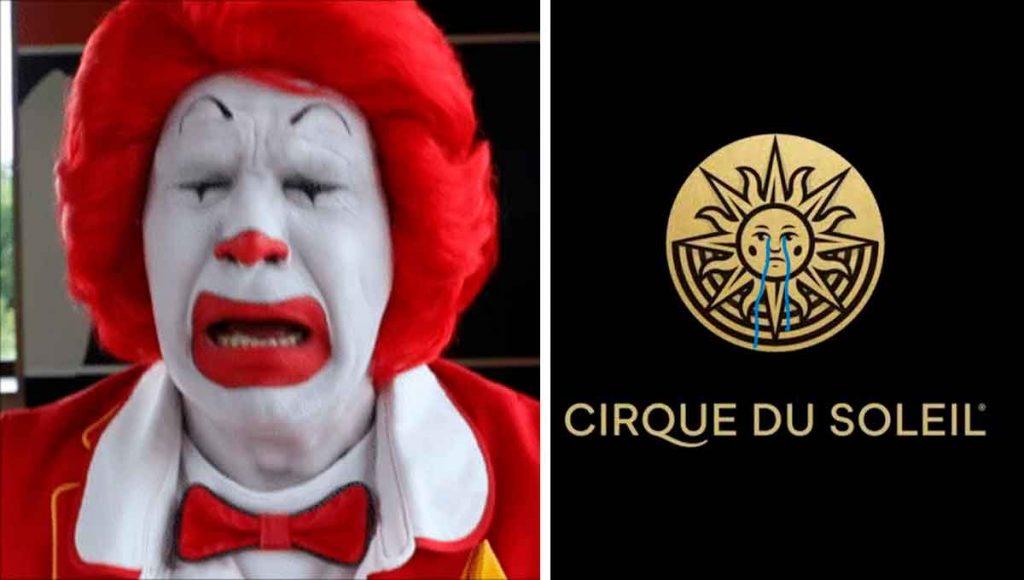 cirque du solei payaso