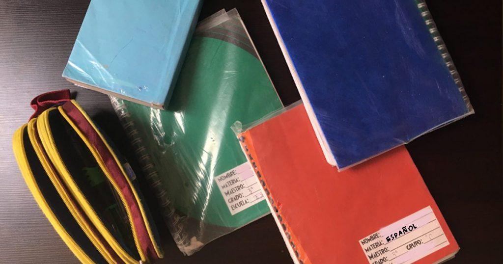 Libreta de español matemáticas color colores meme