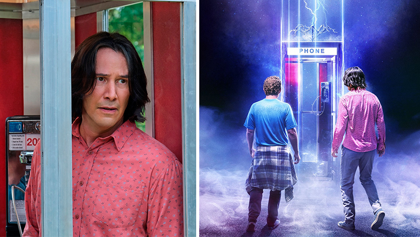 Cover Bill and Ted Face The Music Keanu Reeves